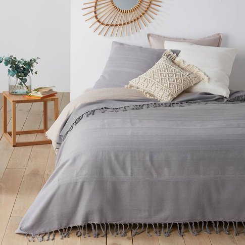 Nedo Cotton Fringed Bedspread