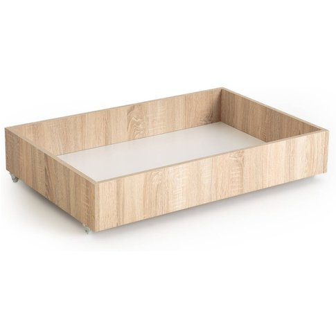 Z-Bed Under Bed Storage Box In Beech Finish
