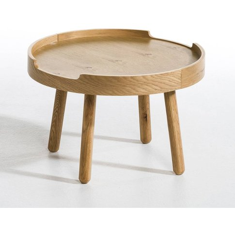 Visby Side Table With Removable Tray