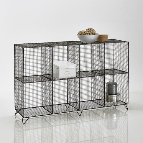 Aréglo 8-Compartment Metal Wire Storage Unit