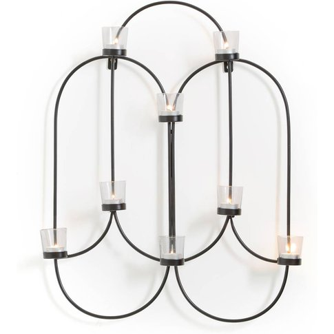 Loha Metal Wall Tealight Holder