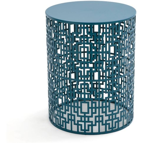 GUEISHI Geometric Metal Side Table
