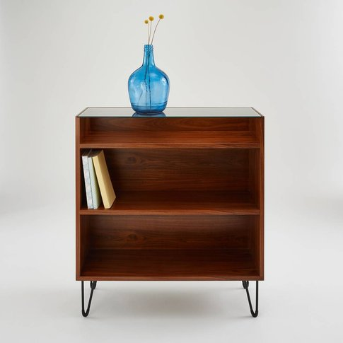 WATFORD Vintage-Style Console Unit with Shelving
