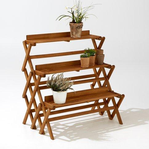 Folding 3-Level Garden Shelving Unit