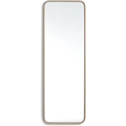 Iodus Retro Style Metallic-Frame Mirror