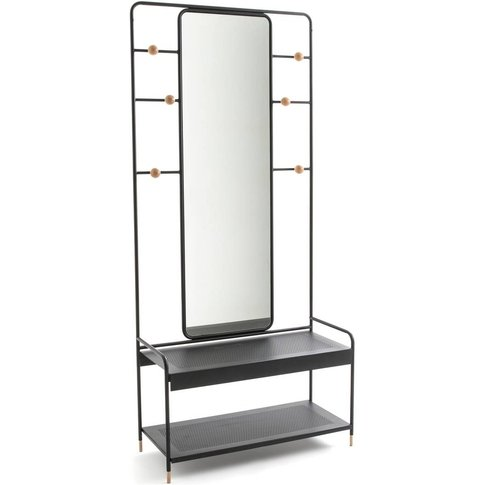 Agama Cloakroom Stand With Mirror