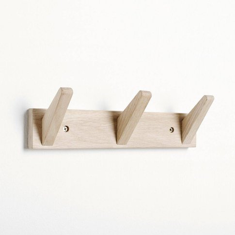 Wall-Mounted 3-Hook Coat Rack