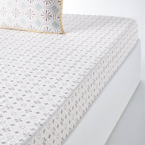 Salernes Printed Fitted Sheet