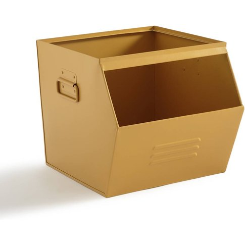 Hiba Stackable Metal Storage Box