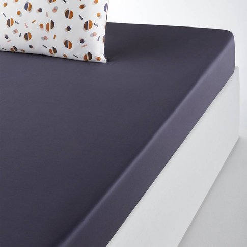 ISIDORE Cotton Satin Fitted Sheet