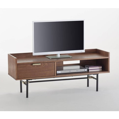 Botello Retro Walnut Tv Unit