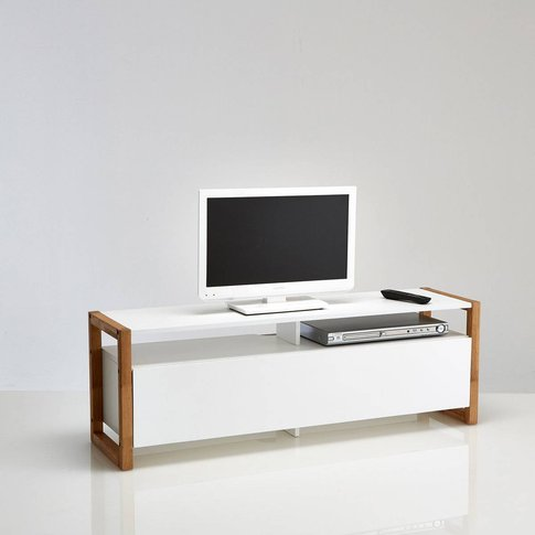 Compo Scandi-Style Tv Unit With Push-To-Open Door
