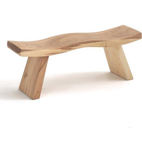 Hathi Hand Carved Bench