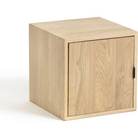 KOUZOU by E. Gallina Oak Storage Box with Door