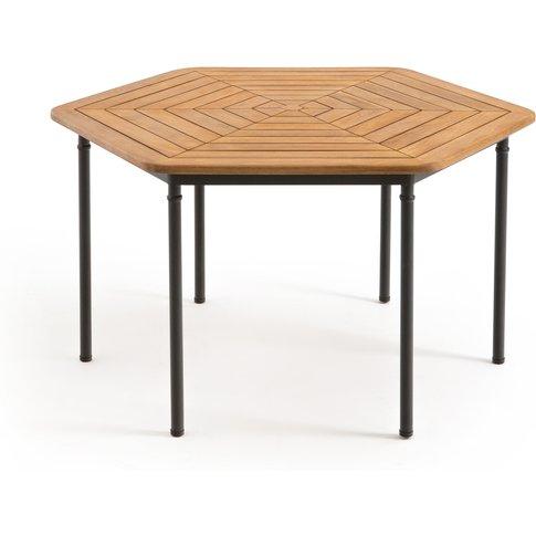 Kajlaw Acacia Hexagonal Garden Table