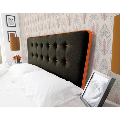 Manhattan Floor Standing Headboard - Shetland Black ...