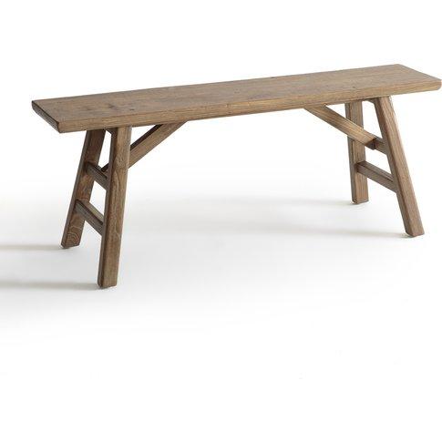 Asayo Solid Elm Bench