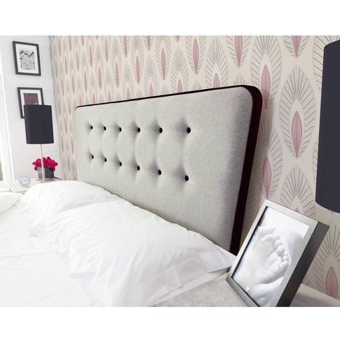 Manhattan Floor Standing Headboard - Shetland Grey W...
