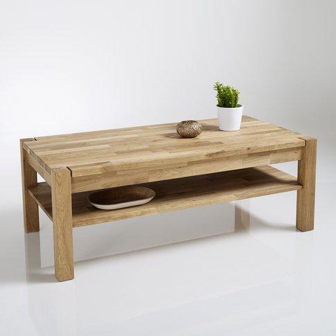 Adelita 2-Tier Oiled Oak Coffee Table