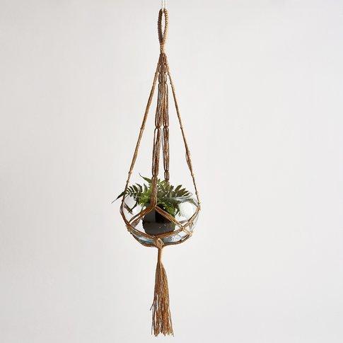 MACRAMATE Woven Rope Hanging Planter