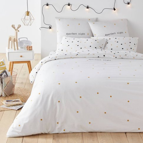 Perfect Night Printed Duvet Cover