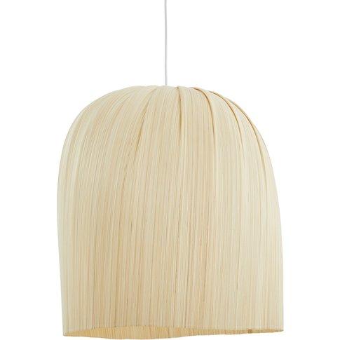 Slikani Bamboo Ribbon Ceiling Light