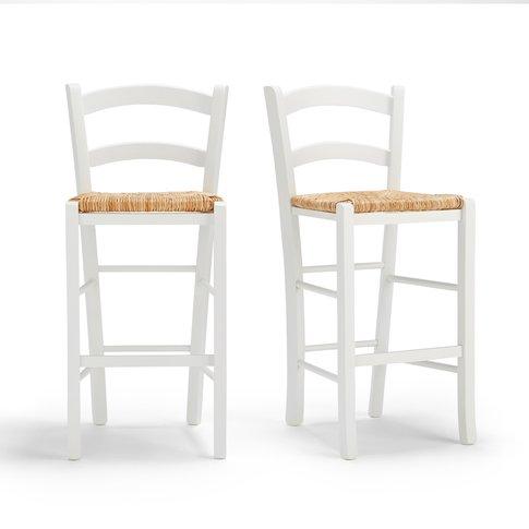 Perrine Mid-Height Bar Stools (Set of 2)