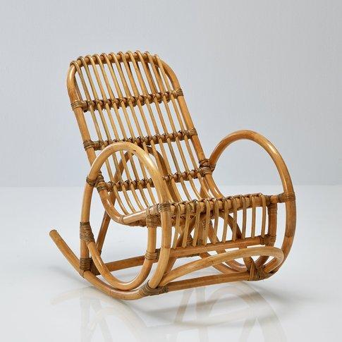 MALU Child's Rattan Rocking Chair