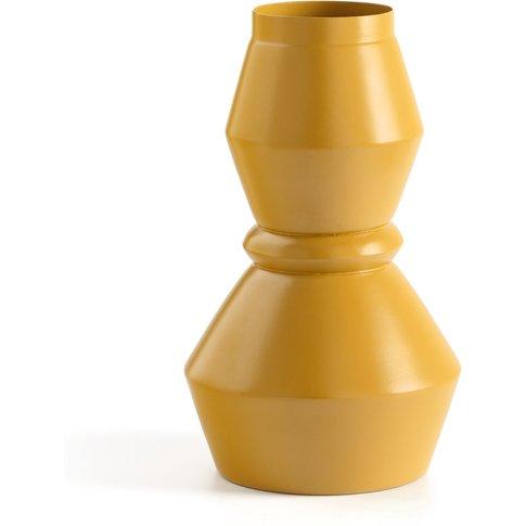 Anaia Contemporary Metal Vase
