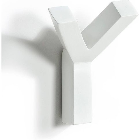 RAMA White Wall Mounted Coat Hook