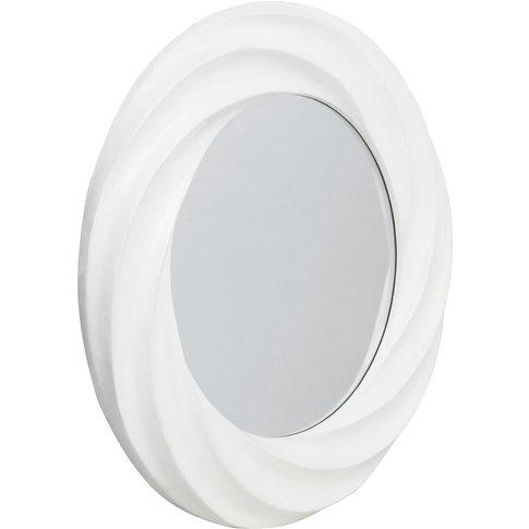Mattise Wall Mirror, White