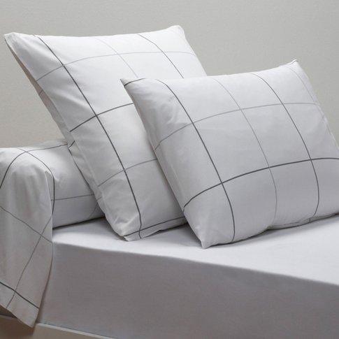 Karo Percale Single Pillowcase and Bolster