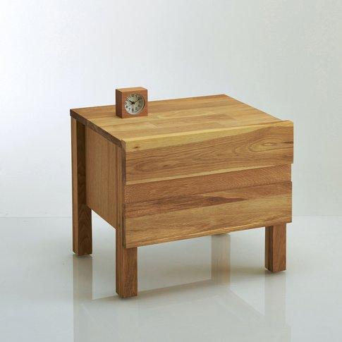 Ariles Solid Oak Bedside Table