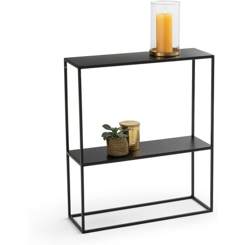 Hiba Compact Metal Console Table