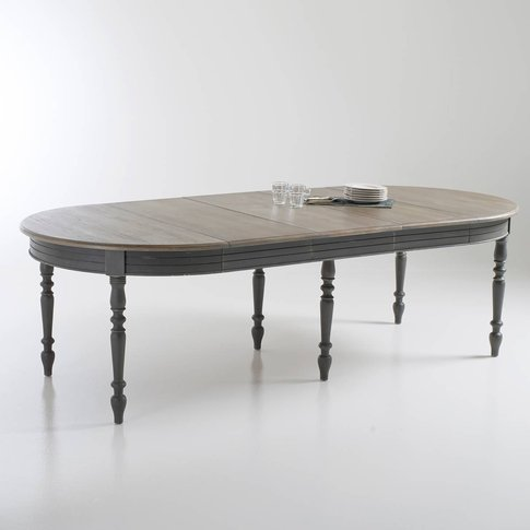 Eulali Extendable Pine Dining Table (4-12 Seats)
