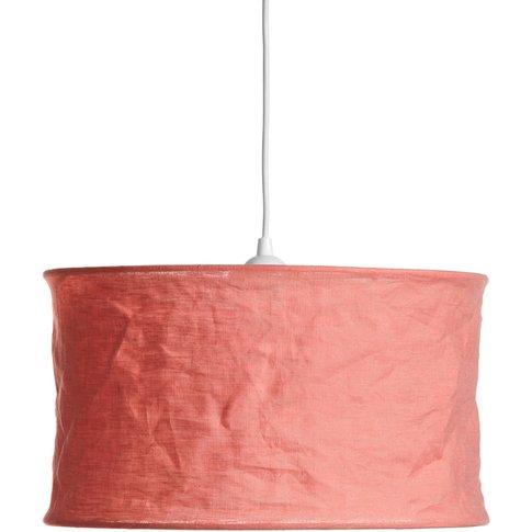 Baulin Crumpled Linen Lampshade