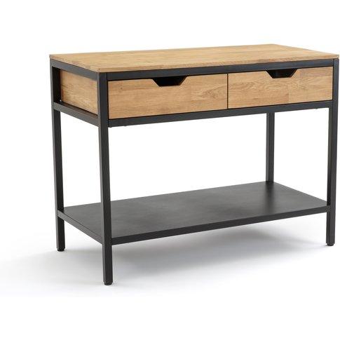 Hiba 2 Drawer Kitchen Cabinet