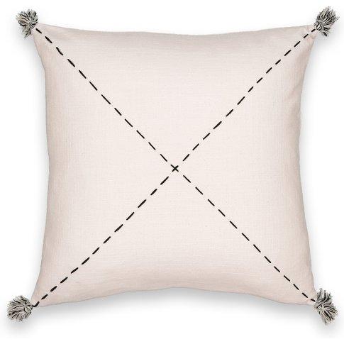 Girandole Hand Embroidered Cushion Cover