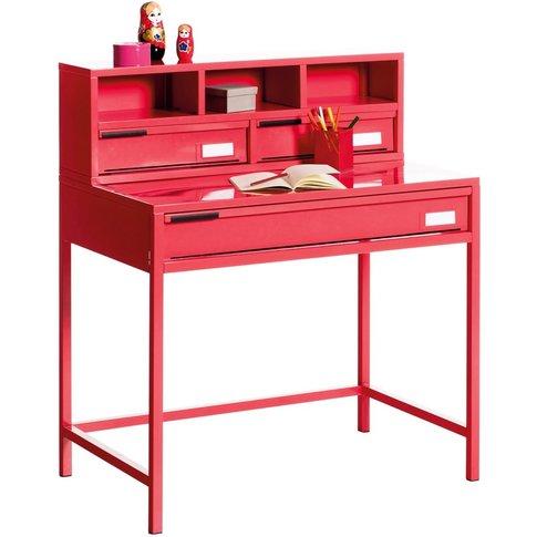 HIBA Contemporary Metal Desk