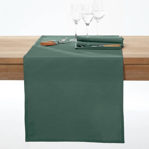 SCENARIO Stain Resistant Cotton Table Runner
