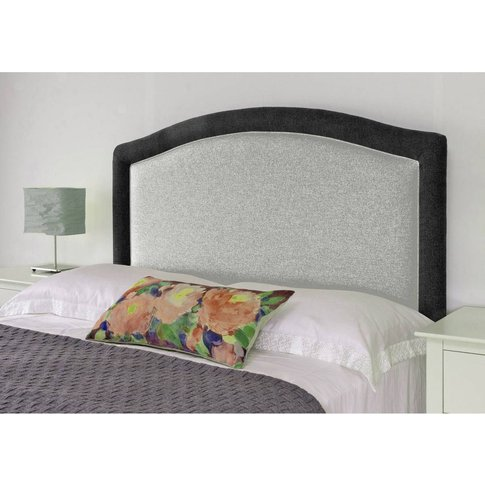 Paris Headboard - Shetland Grey with Black
