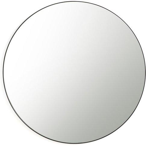 Iodus Round Metal Mirror, Diameter 120cm
