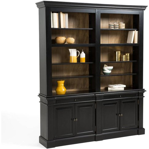 Lipstick Solid Pine Double Apothecary Cabinet