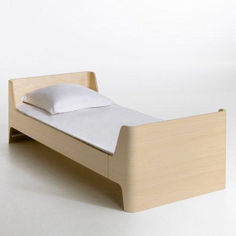 Scandi Single Bed by E. Gallina (with base)