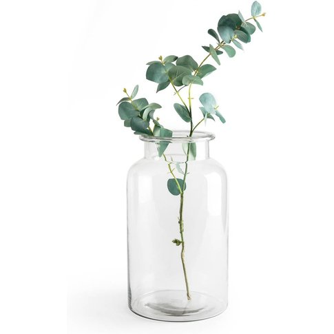 Actala Glass Vase, H 34cm