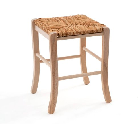 Perrine Solid Beech Farmhouse Stool
