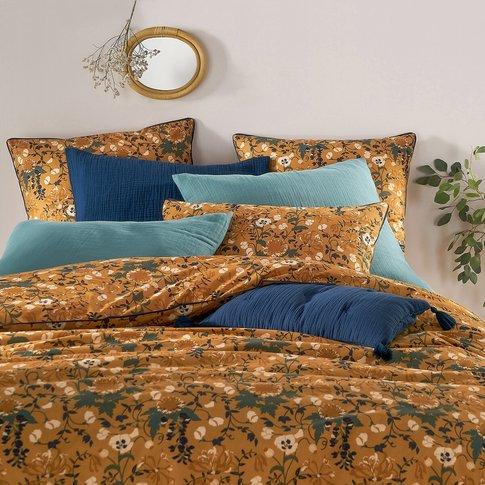 Milton Floral Print Cotton Percale Pillowcase