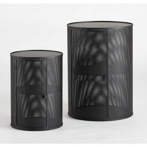 Vesper Perforated Side Table