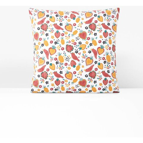 Rosanna Square Pillowcase in Organic Cotton