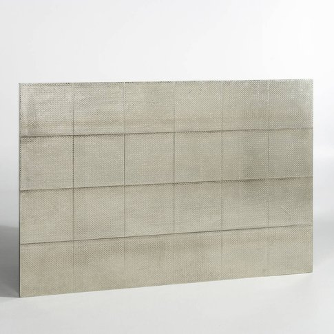 Luba Hammered Metal Headboard, H120cm